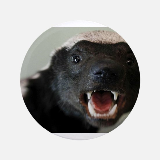 "Honey Badger 3.5"" Button (100 pack)"