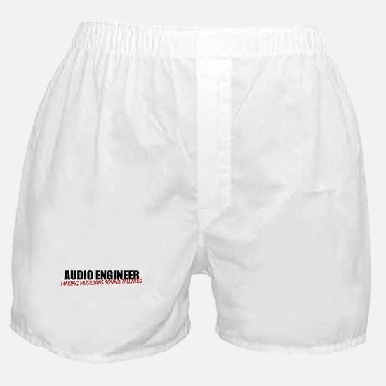Audio Engineer Boxer Shorts