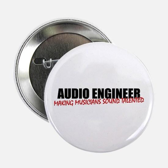 "Audio Engineer 2.25"" Button / Badge"