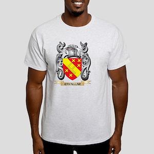 Cavallar Family Crest - Cavallar Coat of A T-Shirt