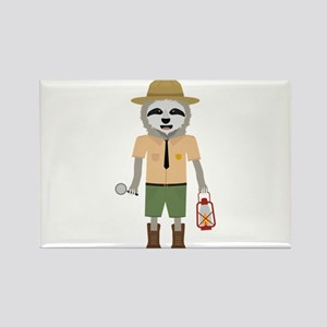 Sloth Ranger with lamp Magnets