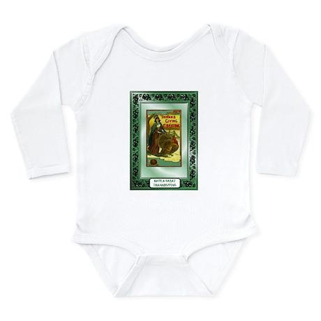 Thanksgiving Greetings Long Sleeve Infant Bodysuit