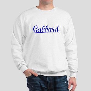 Gabbard, Blue, Aged Sweatshirt