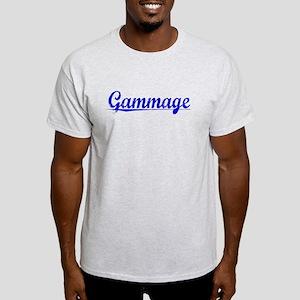 Gammage, Blue, Aged Light T-Shirt