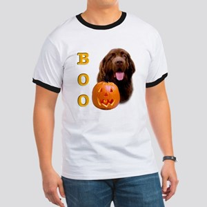 Halloween Brown Newfoundland Boo Ringer T