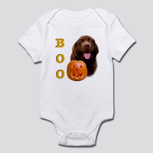 Halloween Brown Newfoundland Boo Infant Creeper