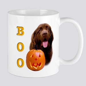 Halloween Brown Newfoundland Boo Mug