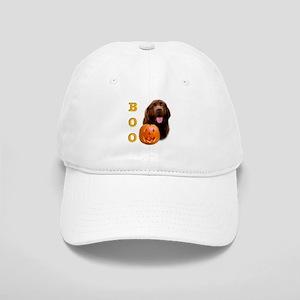 Halloween Brown Newfoundland Boo Cap