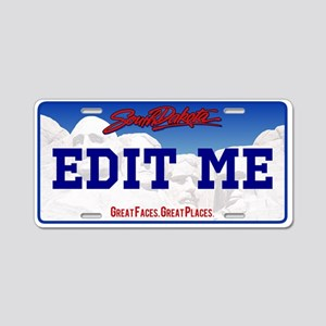 Personalized South Dakota license plate replica.