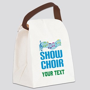 Personalized Show Choir Canvas Lunch Bag
