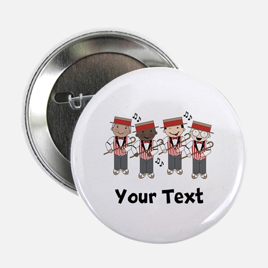 "Personalized Barbershop Music 2.25"" Button"