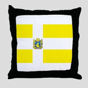 Stavropol Flag Throw Pillow