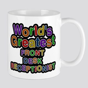 Worlds Greatest FRONT DESK RECEPTIONIST Mugs