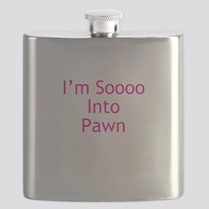 Im Soooo Into Pawn Flask