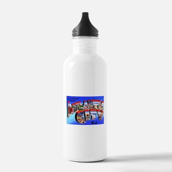 Atlantic City New Jersey Water Bottle