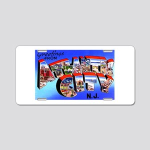 Atlantic City New Jersey Aluminum License Plate