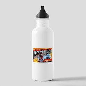 Bemidji Minnesota Greetings Stainless Water Bottle