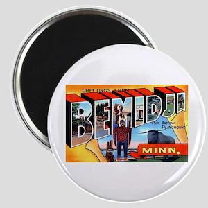 Bemidji Minnesota Greetings Magnet