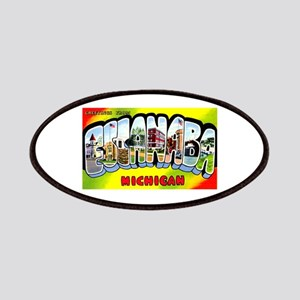 Escanaba Michigan Greetings Patches