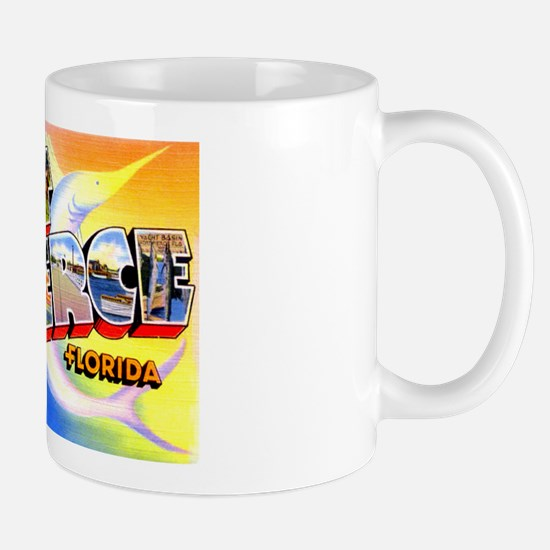 Fort Pierce Florida Greetings Mug