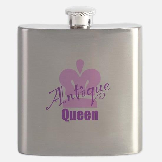 Antique Queen Flask