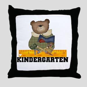 Bear Kindergarten Throw Pillow