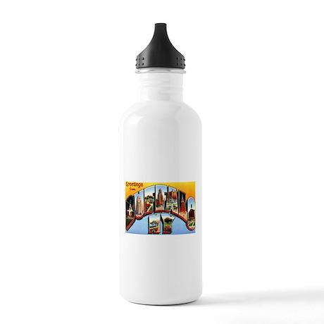 Buffalo New York Greetings Stainless Water Bottle