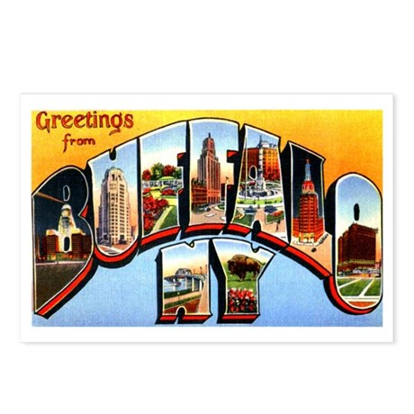 Buffalo new york greetings postcards package of 8 by w2arts buffalo new york greetings postcards package of 8 m4hsunfo