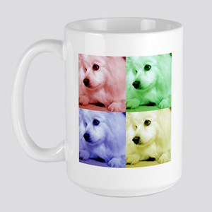 American Eskimo Dog Large Mug