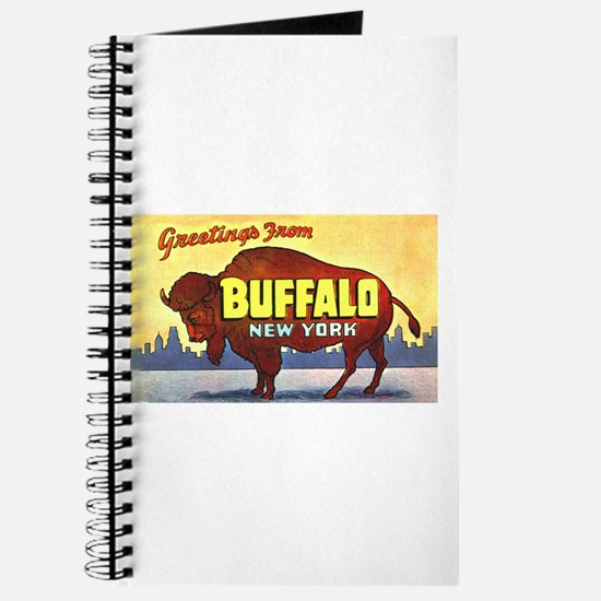 Buffalo New York Greetings Journal