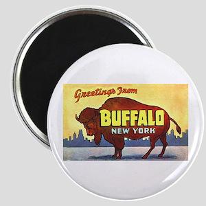 Buffalo New York Greetings Magnet