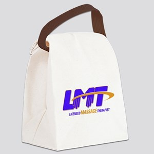 LMT Licensed Massage Therapist Canvas Lunch Bag