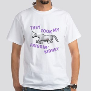 Kidney White T-Shirt