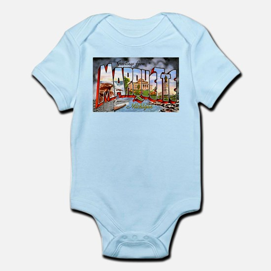 Marquette Michigan Greetings Infant Bodysuit