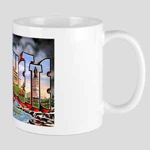 Marquette Michigan Greetings Mug