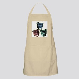 Staffy Pup Grooming or BBQ Apron