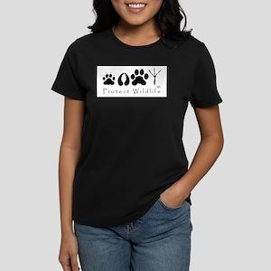 Protect Wildlife Ash Grey T-Shirt