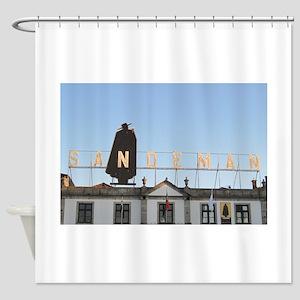 Gaia Port Shower Curtain