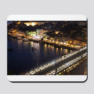 Riberia by Night Mousepad