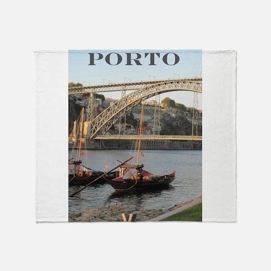 Douro View #2 Throw Blanket