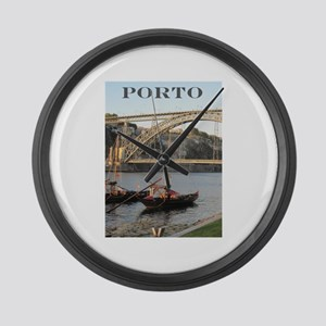 Douro View #2 Large Wall Clock