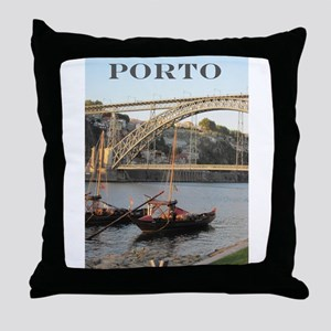 Douro View #2 Throw Pillow