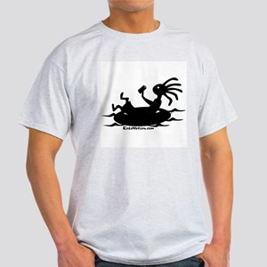 Kokopelli Tuber Ash Grey T-Shirt