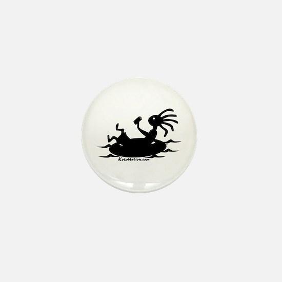 Kokopelli Tuber Mini Button