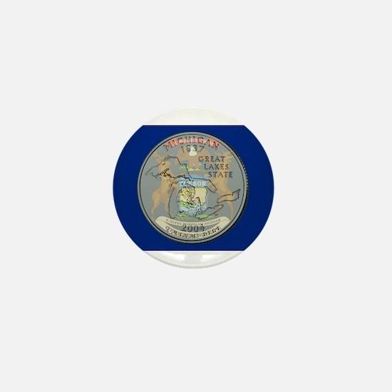 Michigan Quarter 2004 Mini Button