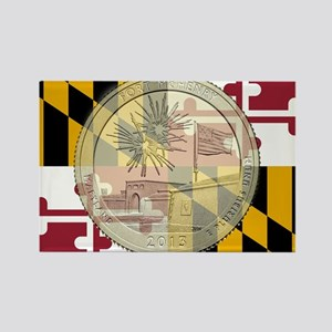 Maryland Quarter 2013 Magnets
