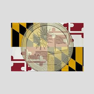 Maryland Quarter 2013 Magnets