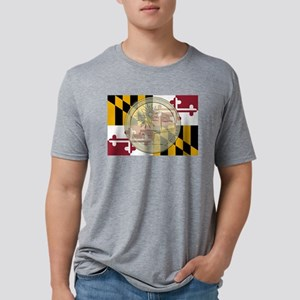 Maryland Quarter 2013 Mens Tri-blend T-Shirt
