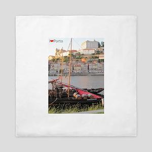 I Heart Porto #2 Queen Duvet