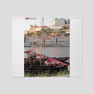I Heart Porto #2 Throw Blanket